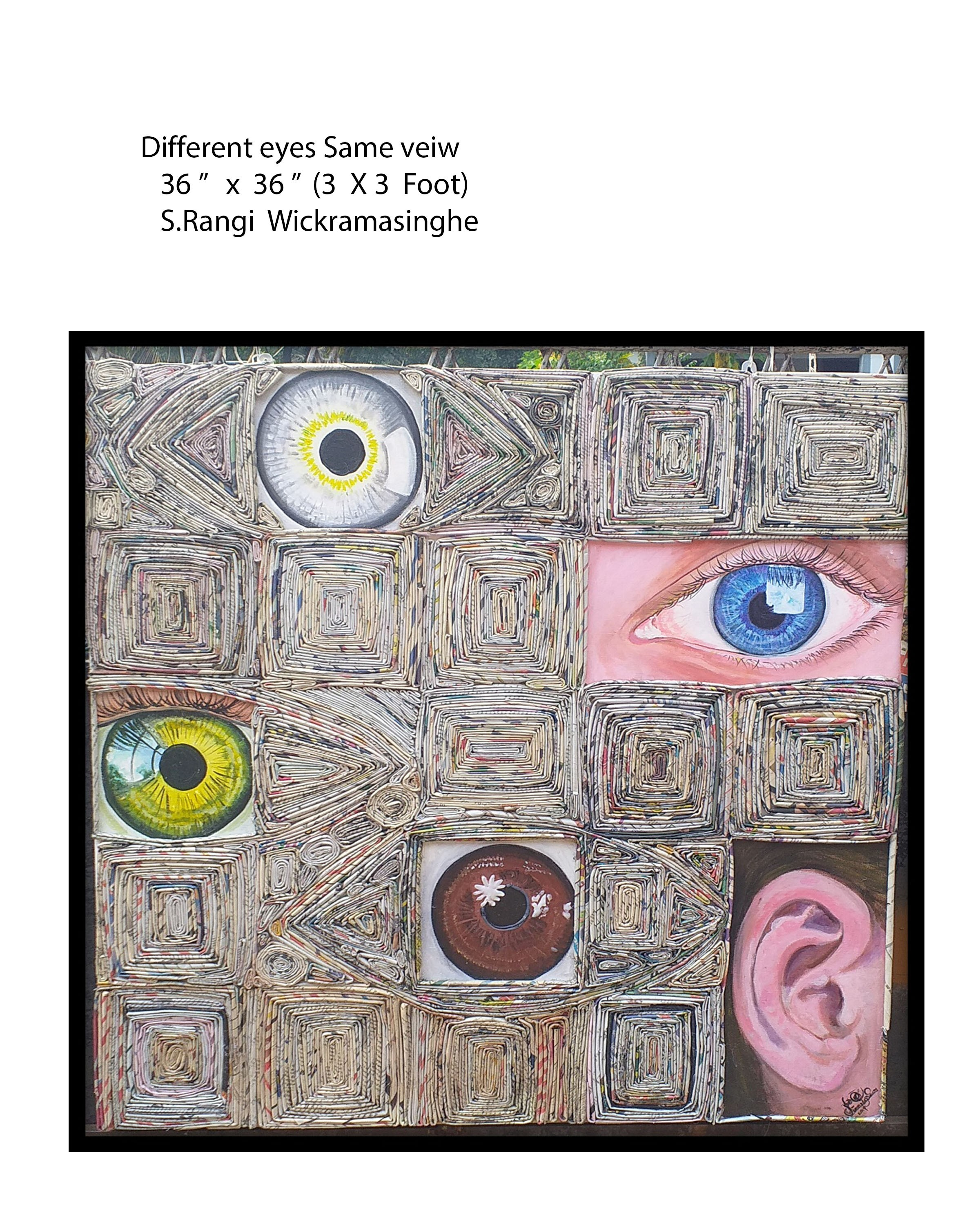 Different eyes Same view by Shamali Wickramasinghe
