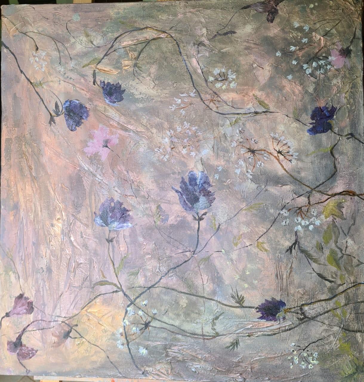 Flowers in the wild by Jean wijesekera