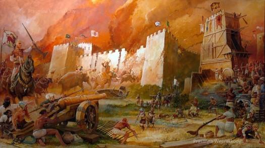 Great Siege of Colombo Fort by Prasanna Weerakkody
