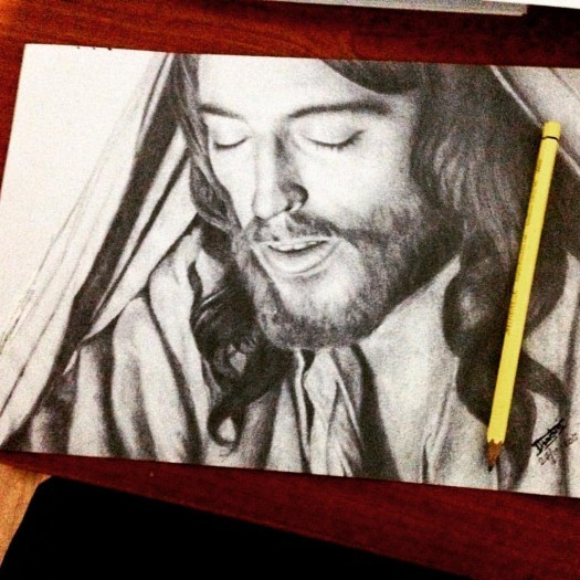 Holy Jesus by Nadun Illesinghe