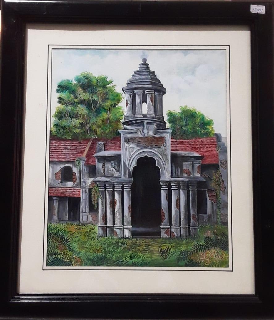 Jaffna Building by SUMITH FERNANDO