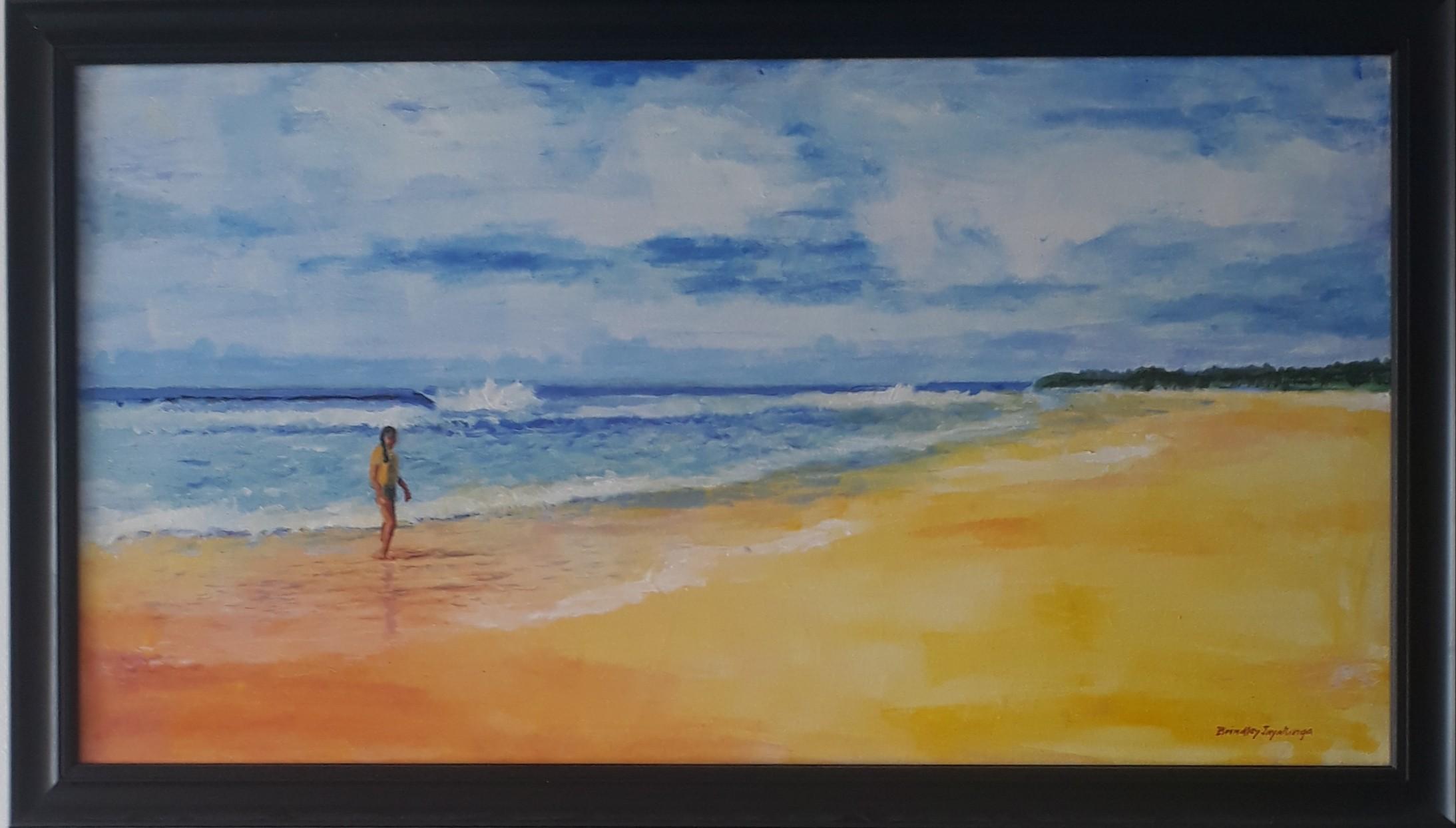 Koggala Beach by Brindley Jayatunga