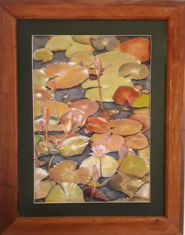 Lotus Pond by Brindley Jayatunga