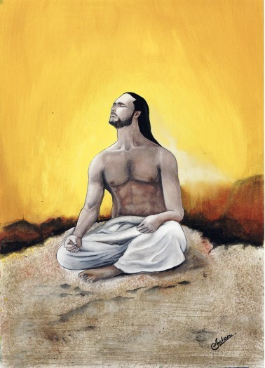 Meditation Man by Shehan Jayasinghe