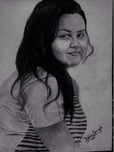 Model - Ashi by Nadun Illesinghe