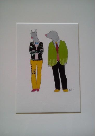 Mr&Mrs. Dog-Man by A.A.G.S Abeysekera