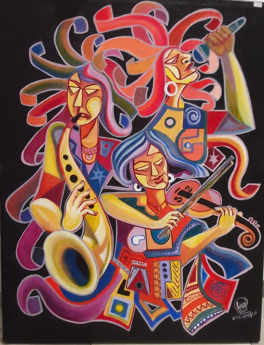 musical abstract by SUMITH FERNANDO