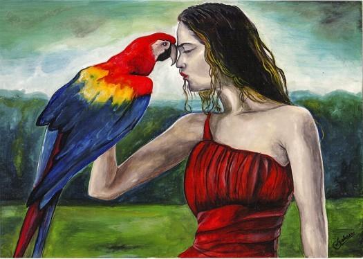 Nature & Girl by Shehan Jayasinghe