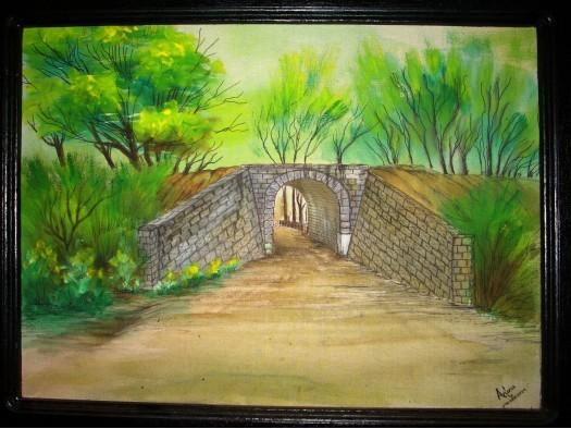 Painting by Arunaka Ranga