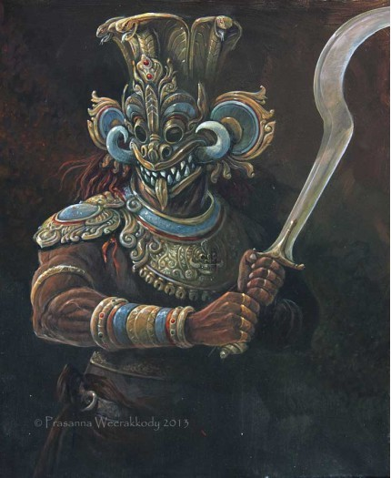 Raksha warrior by Prasanna Weerakkody