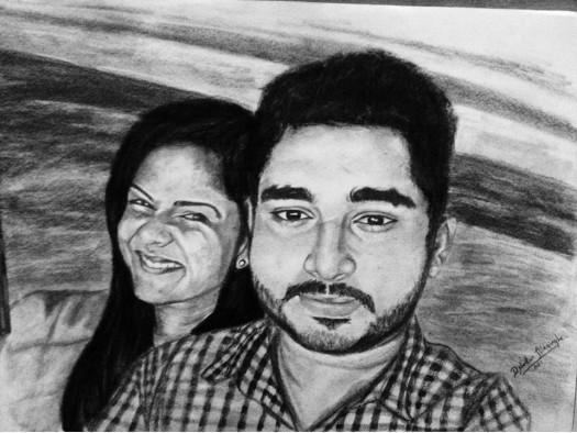 Sri Lankan Couple 2 by Nadun Illesinghe