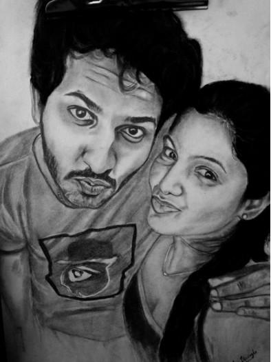 Sri Lankan Couple by Nadun Illesinghe