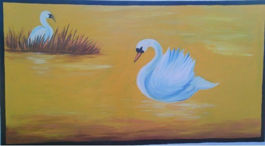 swan by Fathima Mushfira