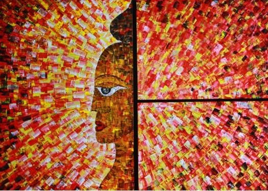 The Sun God,Soorya Agni by Chathuranga Biyagama
