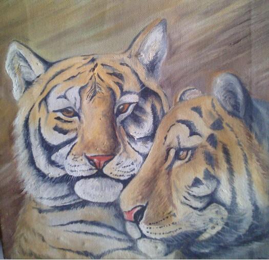 tiger by Fathima Haseena