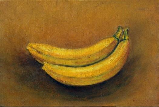 Two Bananna by RAVINDRANATH JAYASEKERA