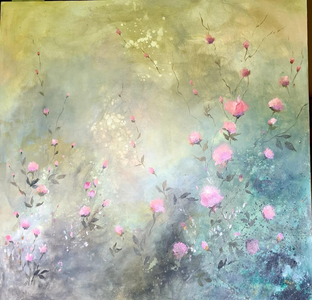 Wild roses by Jean wijesekera