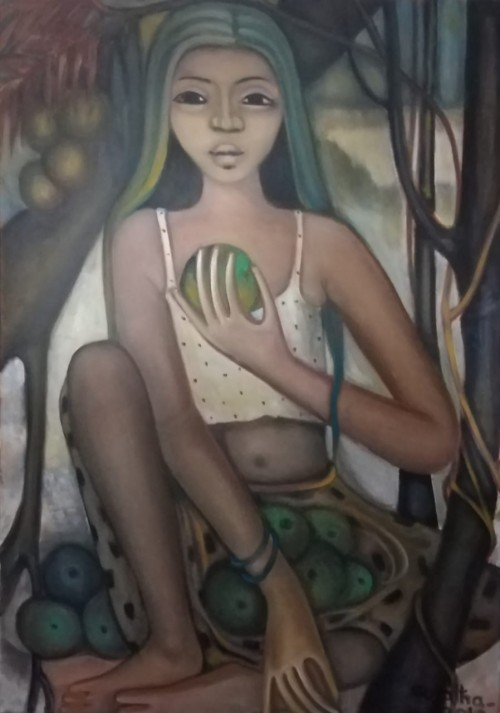 The Female Fruit Seller
