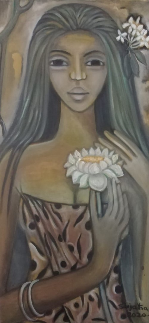 The Girl and the Lotus